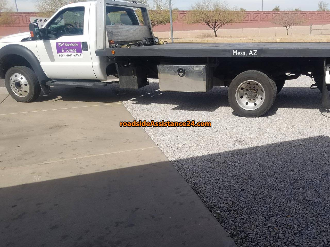 Roadside and towing in Mesa