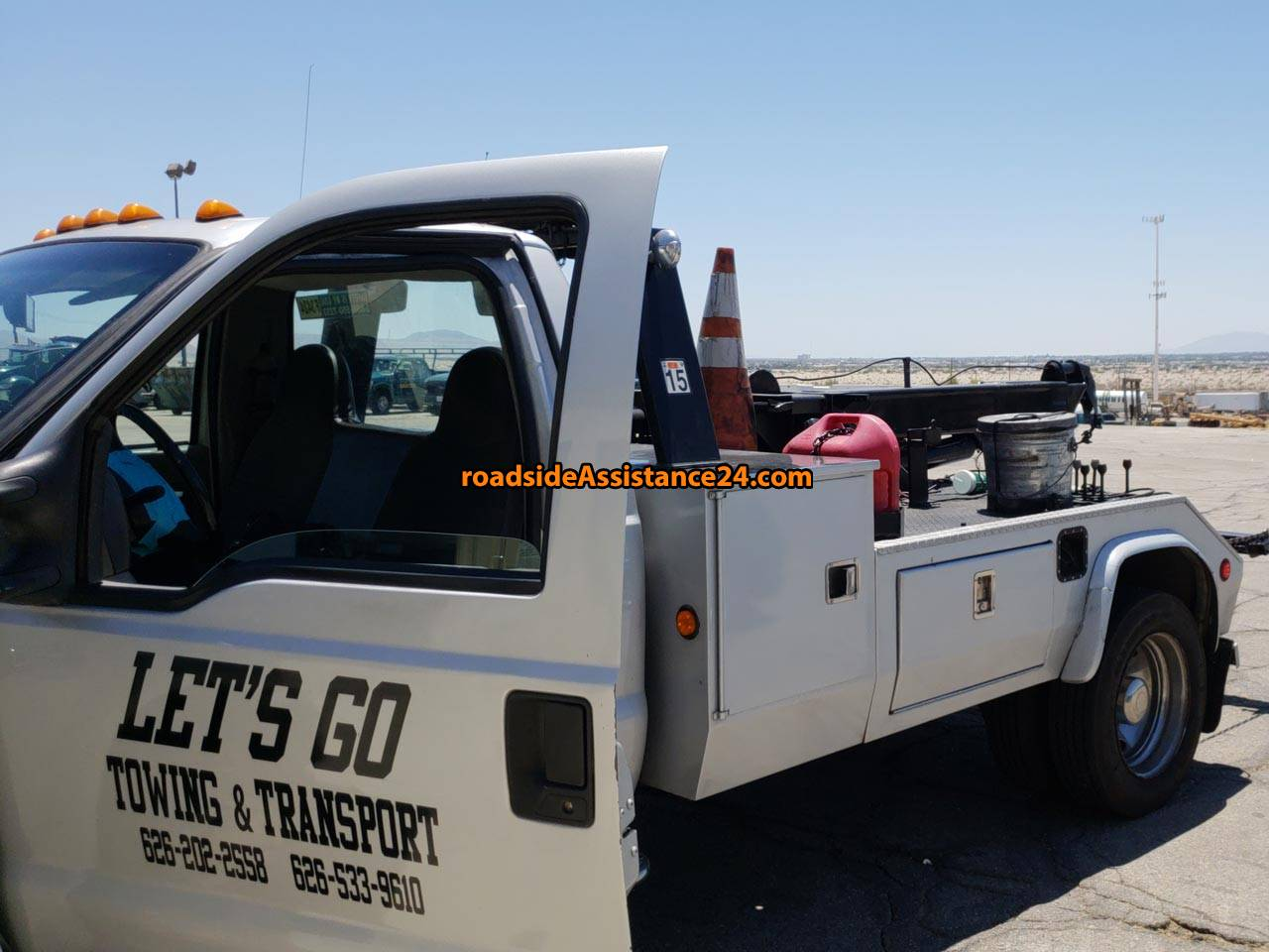 LET'S GO TOWING AND TRANSPORT